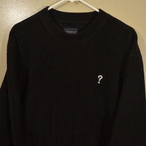 Vintage Guess? USA Logo Fleece Crewneck Question
